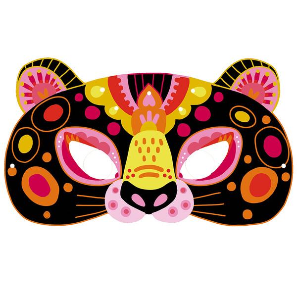 Les ateliers du calme-Scratch Art masques animaux