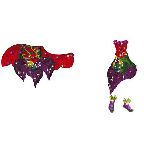 Carnet défilés de mode fées et licornes