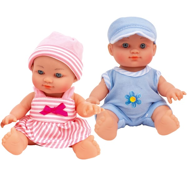 Poupons jumeaux 21 cm
