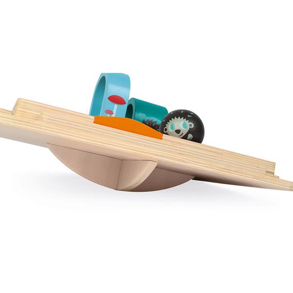 Rallye du hérisson en bois