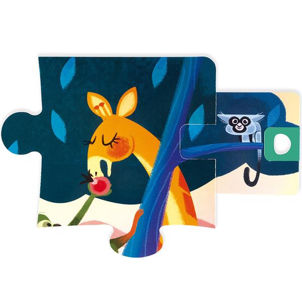 Puzzle de 20 pièces surprise festin dans la jungle