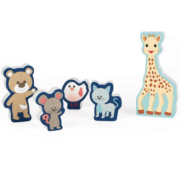 Puzzle en bois Sophie la Girafe 5 pièces