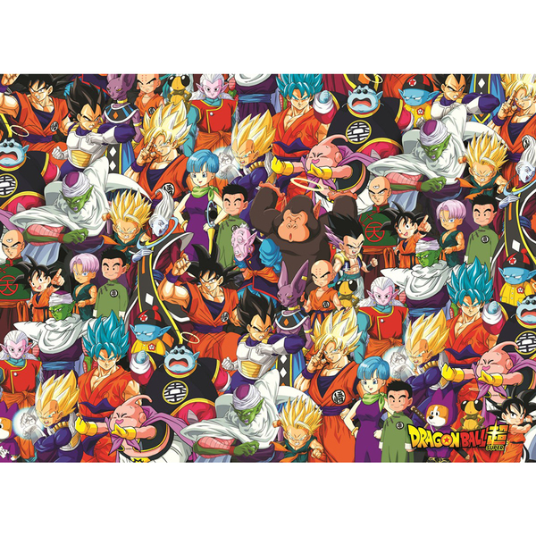 Puzzle Impossible Dragon Ball Super 1000 pièces