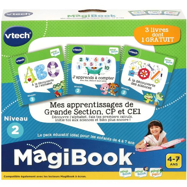 Magibook - Mes apprentissages - Niveau CP CE1