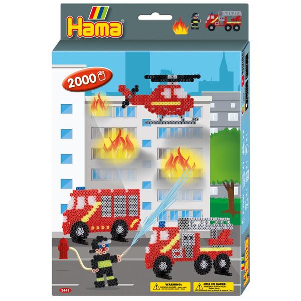Perles à repasser les pompiers