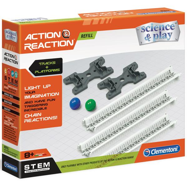 Action et Réaction recharge rails et bases