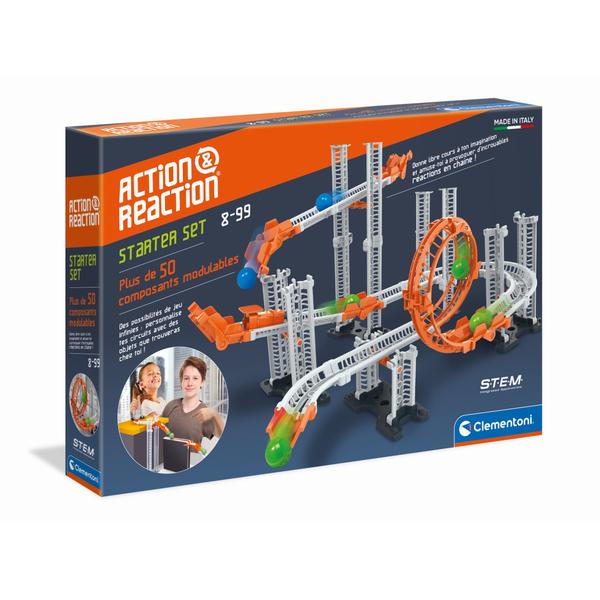 Action et réaction-Coffret scientifique starter set 50 pièces