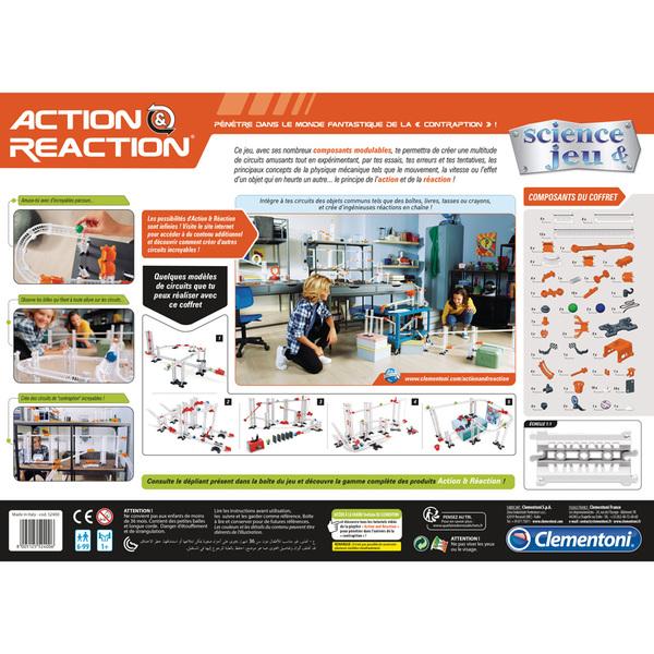 Action et réaction-Coffret scientifique 120 pièces