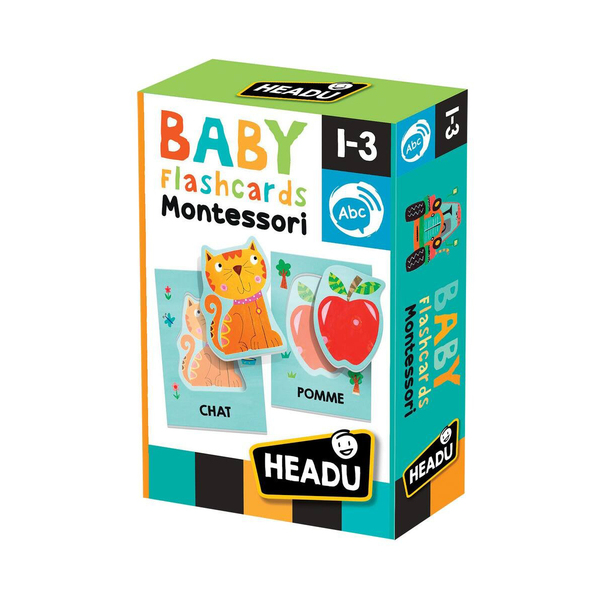 Mes premières Flash Cards Montessori