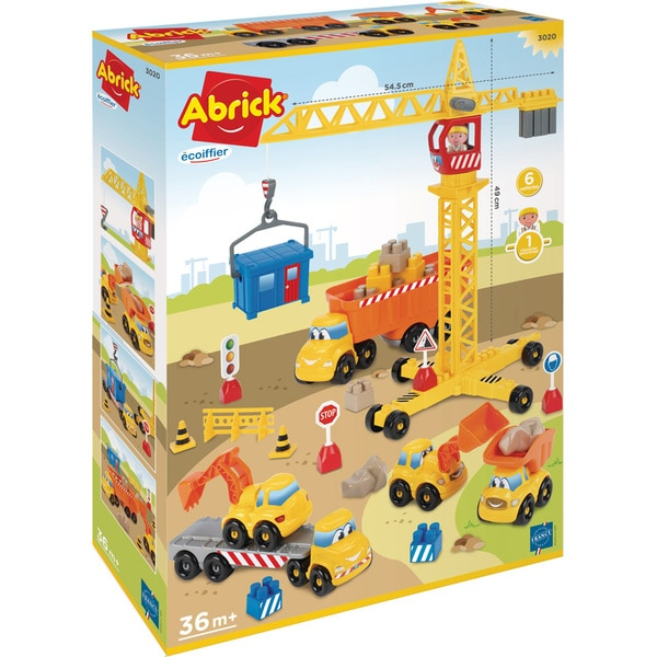 Jeu de construction de chantier Abrick