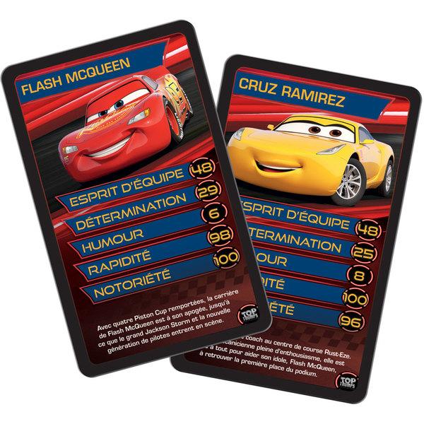 Jeu de bataille Cars 3