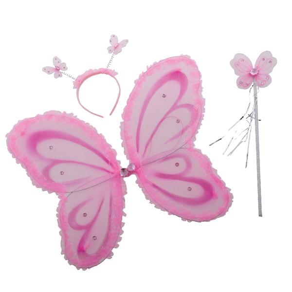 Set déguisement fée rose