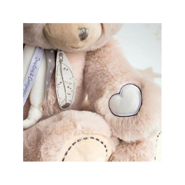 Attrape-rêve peluche ours beige 40 cm
