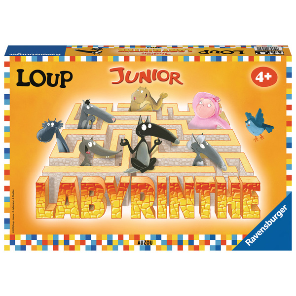 Labyrinthe Junior Loup