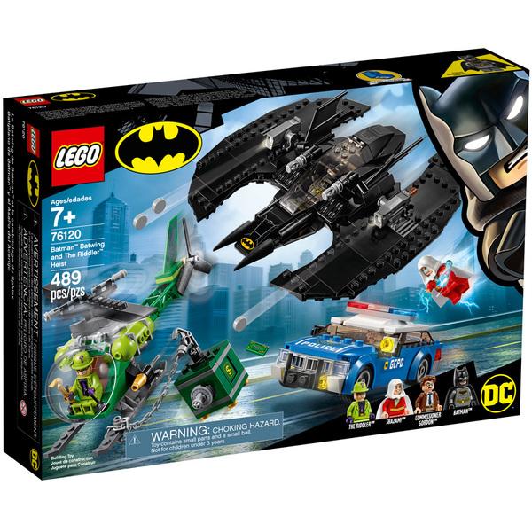 De Comics Lego® Dc 76120 Batwing Mystère L'homme Le Super Et Cambriolage Heroes 6yvf7gYb