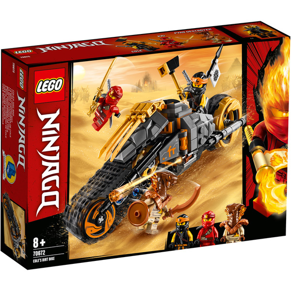 70672 - LEGO® NINJAGO La moto tout-terrain de Cole