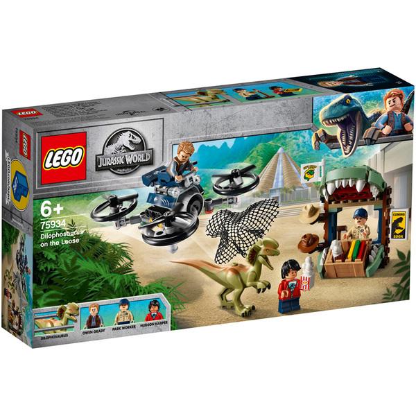 75934 - LEGO® Jurassic World Dilophosaure en liberté