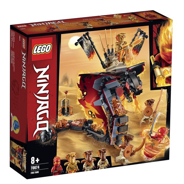 70674 - LEGO® NINJAGO Croc'feu