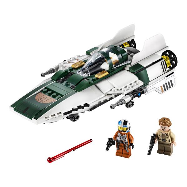 75248-LEGO® Star Wars A-Wing Starfighter de la Résistance
