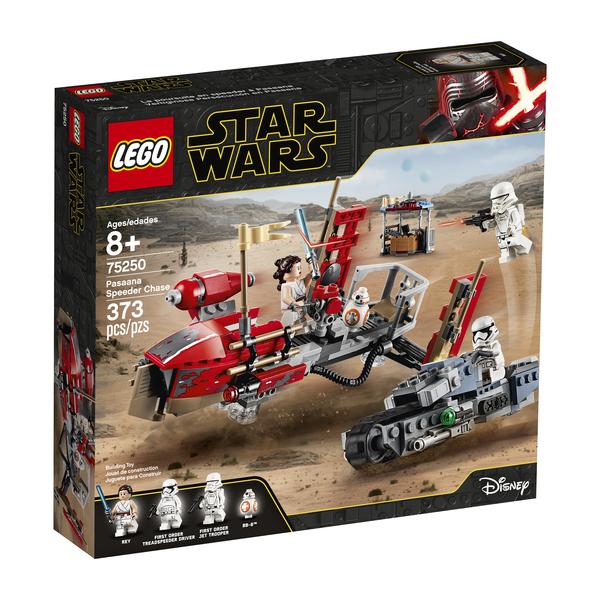 75250-LEGO® Star Wars La course-poursuite en speeder sur Pasaana