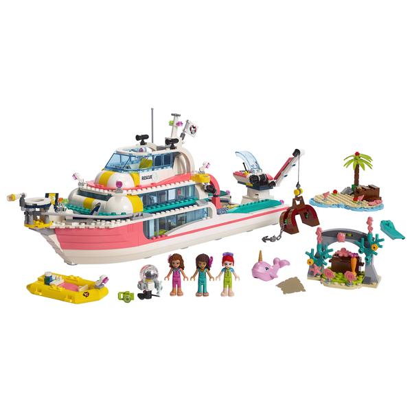 Lego® Friends Le Sauvetage Bateau 41381 De CBrdxoe