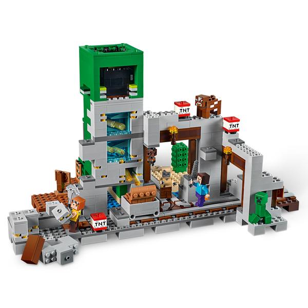 21155 - LEGO® Minecraft La mine du Creeper