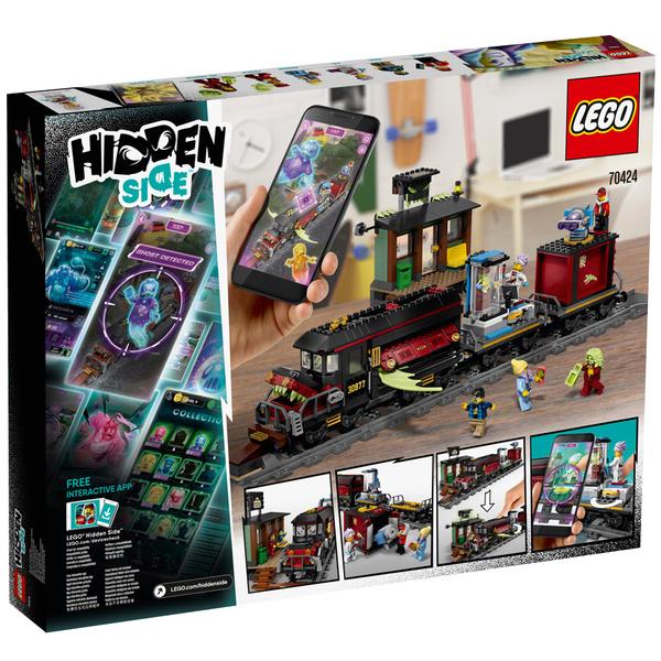 70424 - LEGO® Hidden Side Le train-fantôme