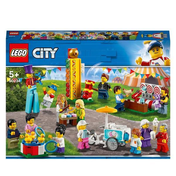 60234 City La De Figurines Foraine Lego® Fête Town Ensemble f7yb6g