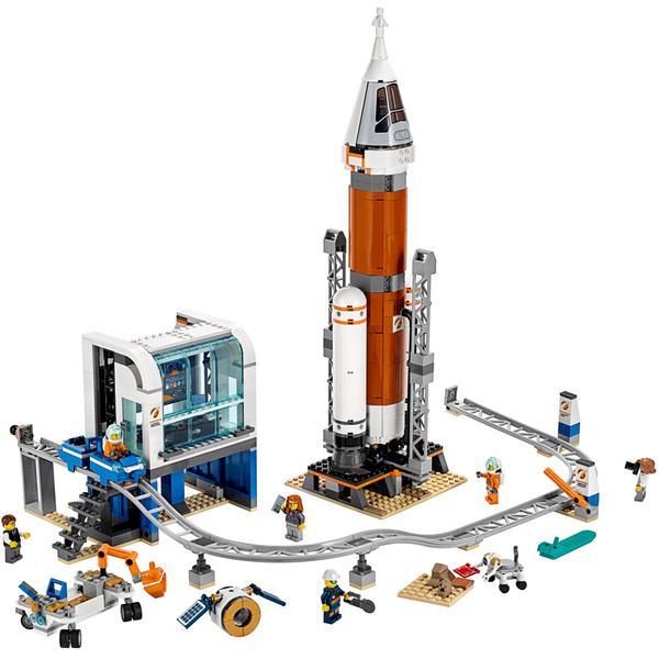 60228 - LEGO® City Space La fusée spatiale et sa station de lancement