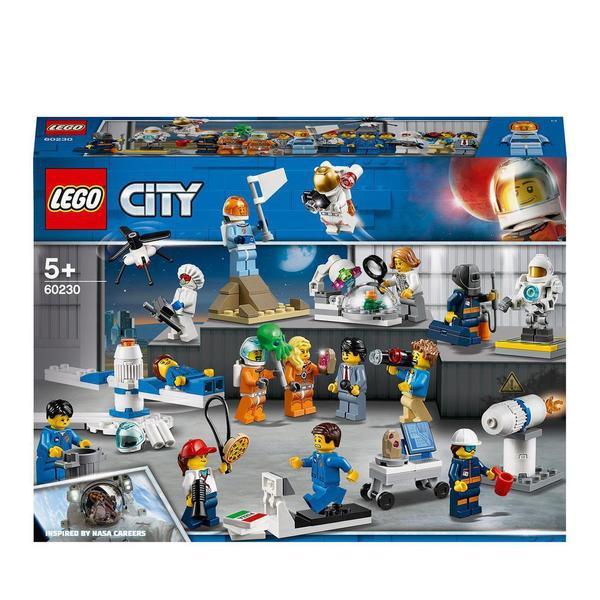 60230 - LEGO® City Space Ensemble de figurines la recherche et le développement spatiaux