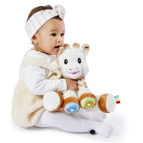Peluche Sophie la girafe touch and music