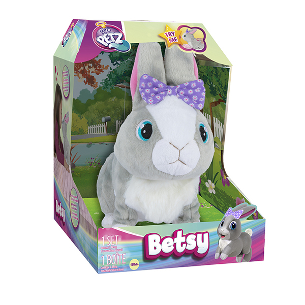 Peluche interactive Betsy Mon Petit Lapin