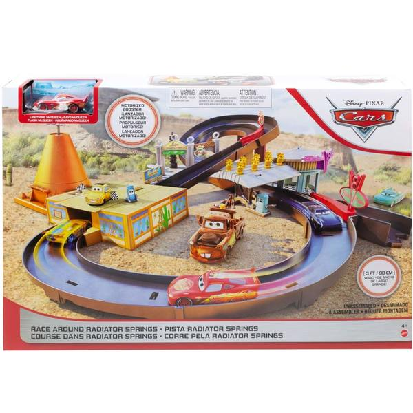 Disney Cars - Coffret Circuit Radiator Springs et voiture Flash Mc Queen