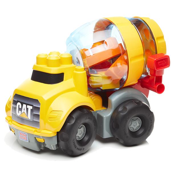 La bétonneuse de construction CAT