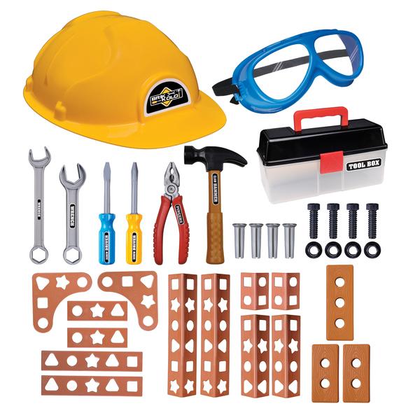 Ensemble bricolage 36 pièces avec boite à outils