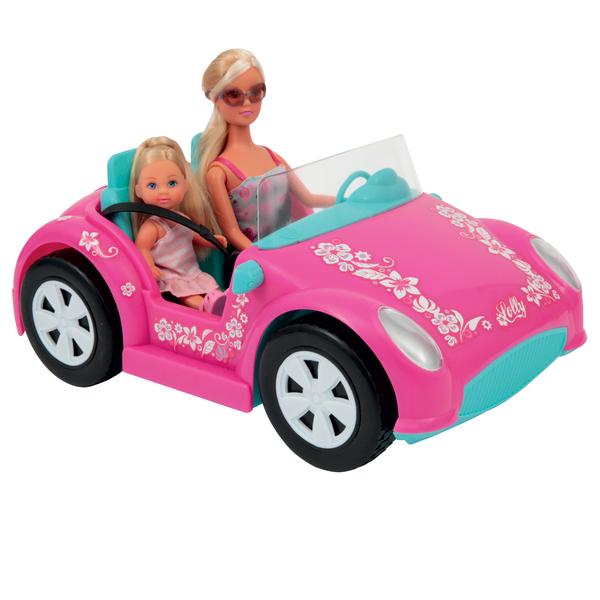 Poupée Lolly avec voiture et scooter