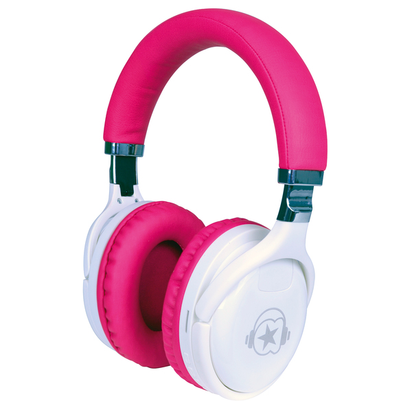 Casque Bluetooth MP3 rose