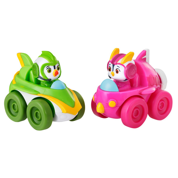 Top Wing - Pack de deux voitures de course à collectionner