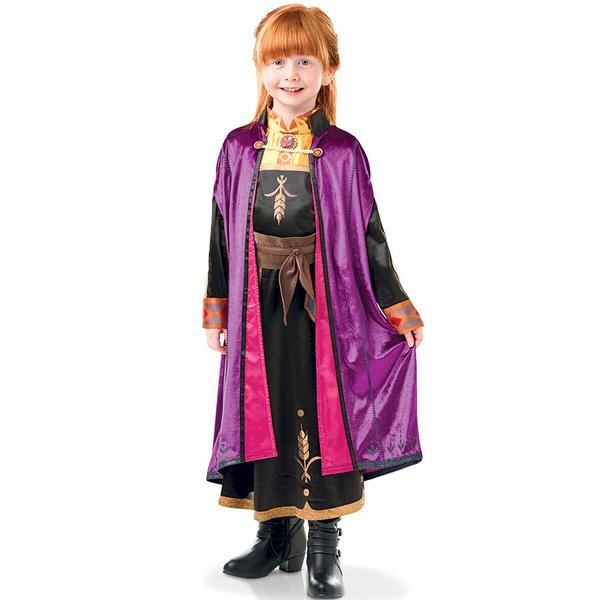 Déguisement luxe Anna La Reine des Neiges 2 7/8 ans