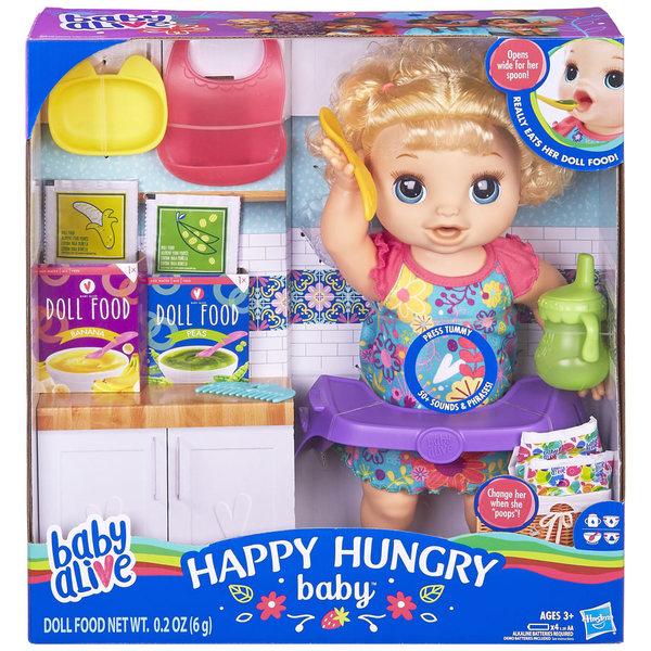Poupon Bébé adore manger cheveux blonds - Baby Alive