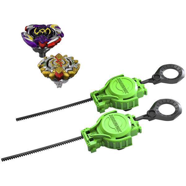 Toupie Beyblade - Set de combat Choc Ultime - Beyblade Burst Turbo Slingshock
