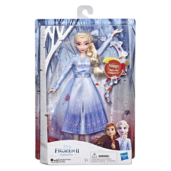 Poupée chantante Elsa Into the Unknown - La Reine des neiges 2