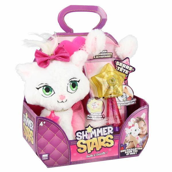 Peluche et accessoires Shimmer Stars le chat