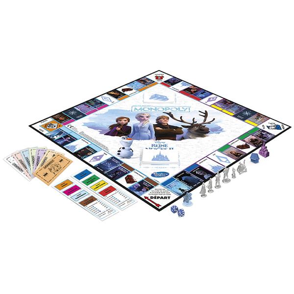 Monopoly La Reine des Neiges 2