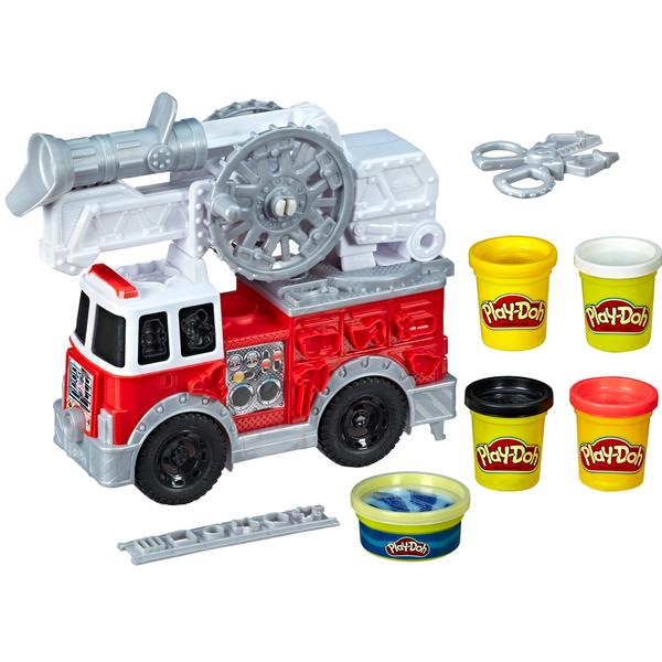 Pâte à modeler - Le camion de pompier de Play-Doh Wheels