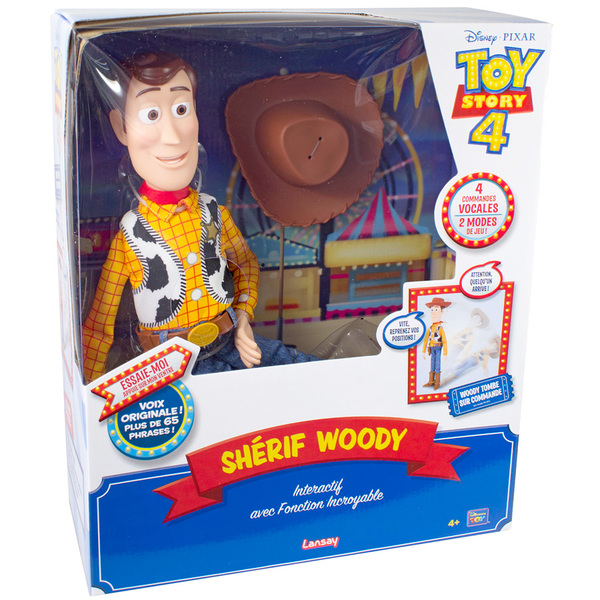 Disney Toy Story 4 - Figurine Incroyable Shérif Woody interactive 40 cm