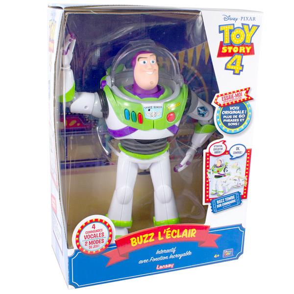 Disney Toy Story 4 - Figurine Incroyable Buzz l