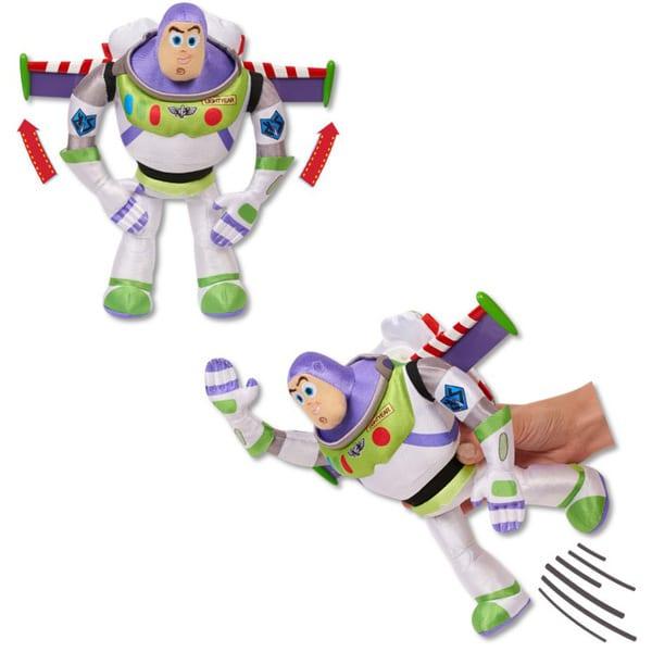 Toy Story 4 - Peluche à fonction Buzz l
