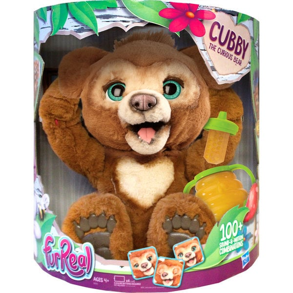 Peluche interactive Cubby l