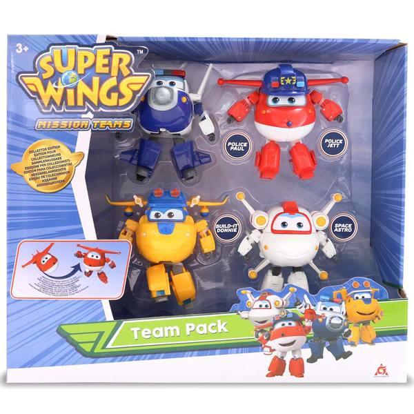 Coffret de 4 figurines Super Wings